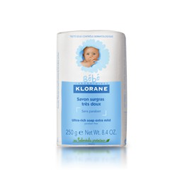 Klorane bébé very gentle surgras soap 250g